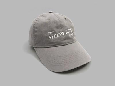 The Sleepy Boys Club Hat - Gray