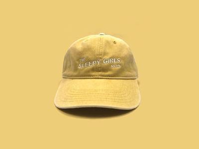 The Sleepy Girls Club Hat - Yellow