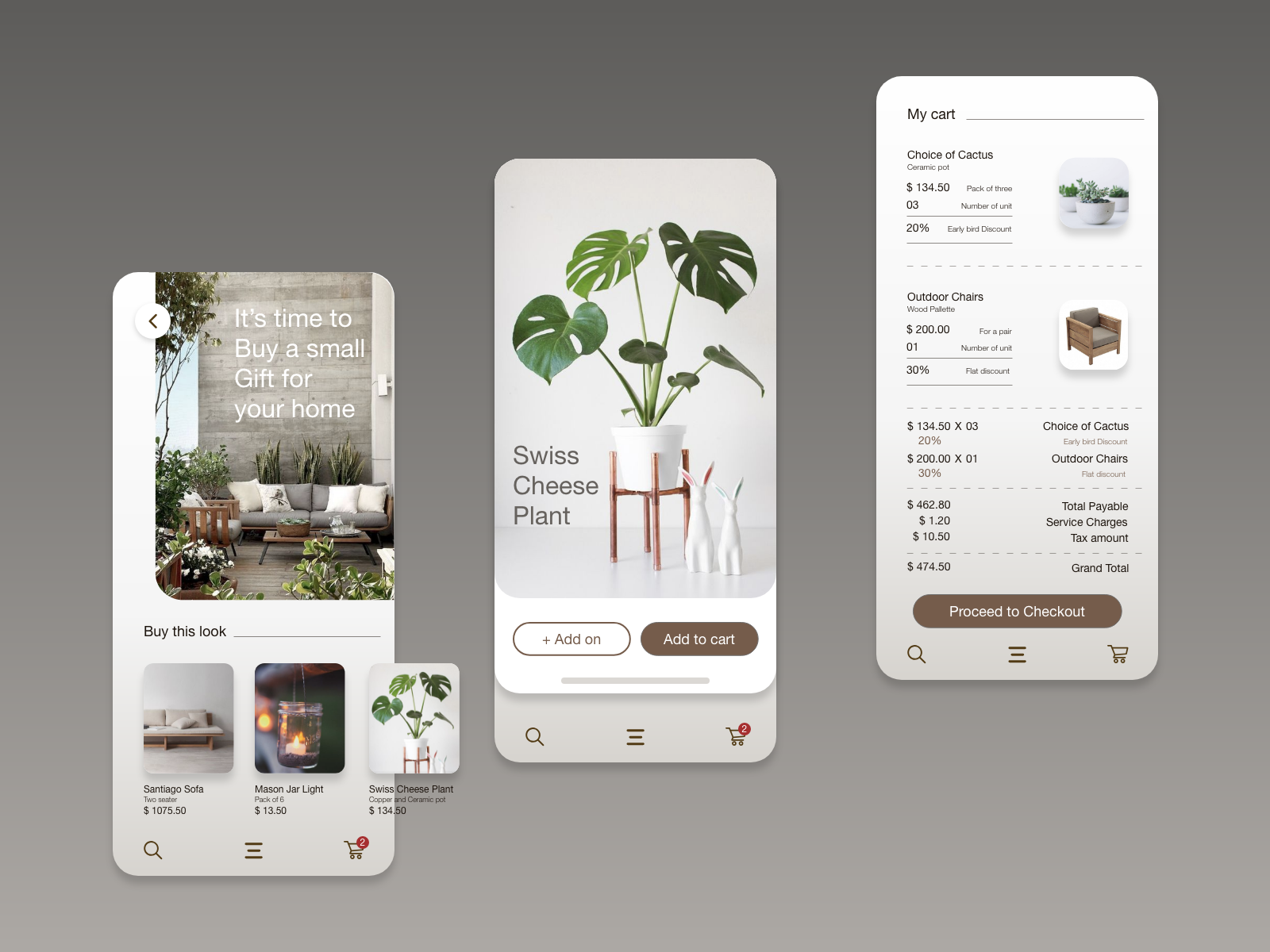 Home Decor App By Soham On Dribbble