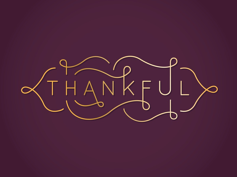 Thankful flourishes letters thankful hand lettering thanksgiving