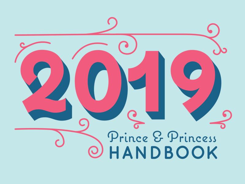 Prince and Princess Handbook 2019 flourishes lettering handbook