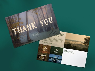 Congaree Land Trust Thank You Postcard