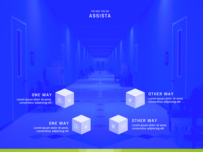 Asista Landing Page website