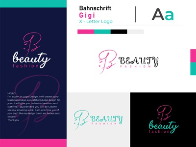 beauty fashion logo