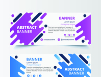 abstrac banner ads