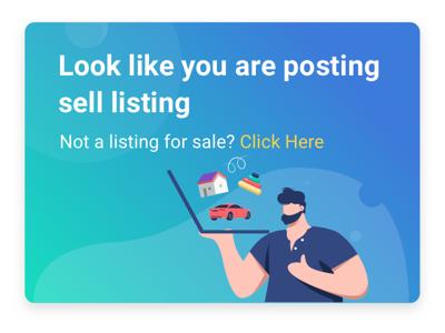 Buy Sell Posting Banner