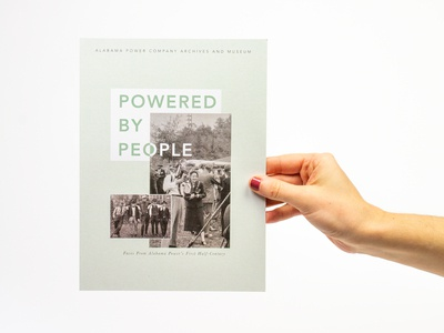 Powered By People Poster Exhibit