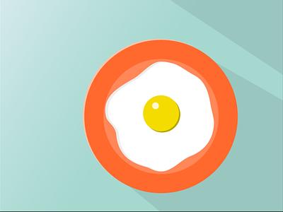Breakfast Egg vectorart adobe illustrator illustrator egg breakfast