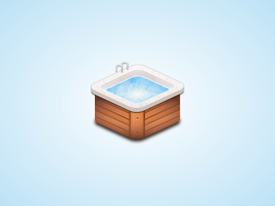 Pool pool wood swim jacuzzi