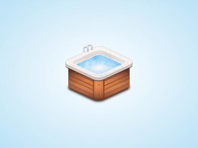 Pool pool wood swim jacuzzi