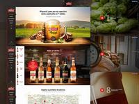 Krusovice - website