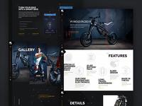 Kuberg – Free Rider website