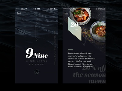 9nine – app template II