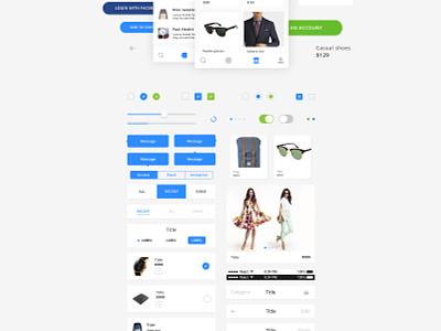 Guacamole UI kit guacamole avocode adobe xd sketch icons ui kit ux ui ios freebie free app