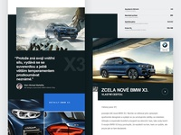BMW X3 newsletter