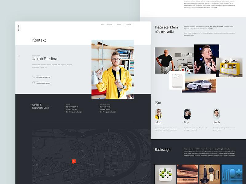 Stedina website (casestudy)