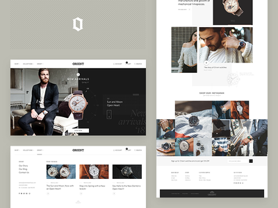 Orient Watch USA landing page texture ui website orient lifestyle collection watch watches