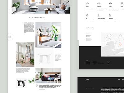 Kaarls website II website stedina kaarls typography web ux ui ecommerce shop layout interior grid minimal furniture branding