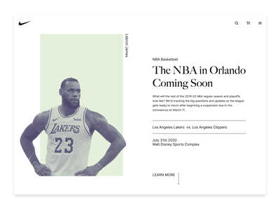 048 color design dailyui whitespace clean simple basketball ux typography minimal ui