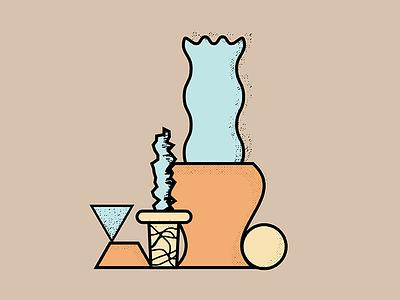 Doodle 011  illustration plants dailydoodle texture shape vector color doodle