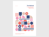 Gig Poster - The National