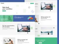 Karla Home Page Web Design
