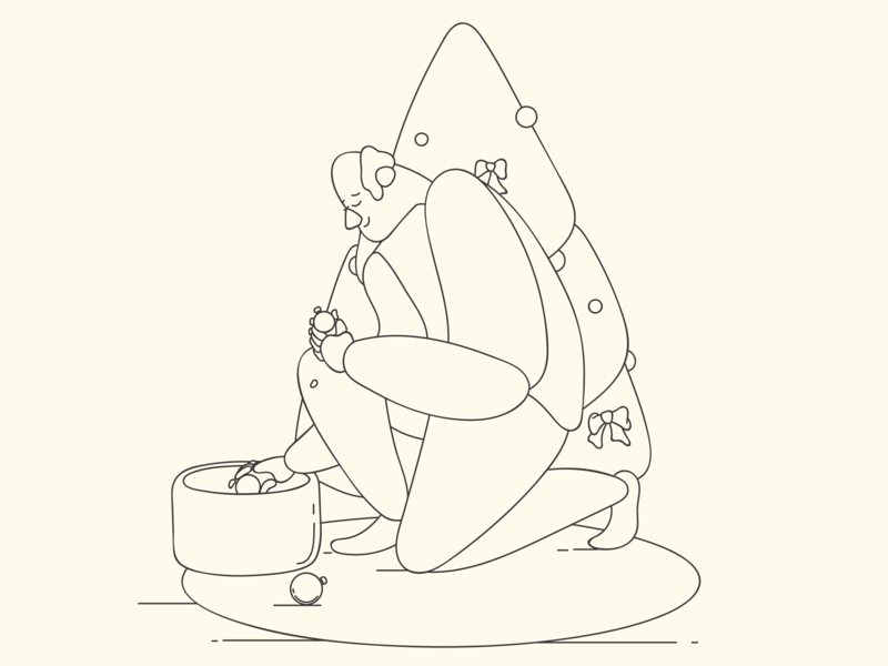 When the Holydays are over cartoon flat holydays are over illustration lineart drawing minimal outline characters line art clean characterdesign outline minimal vector illustration characters