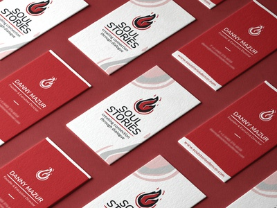 Soul Stories - Business Cards