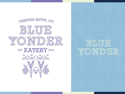 Blue Yonder Eatery - Logo