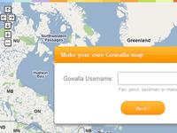 Gowalla Map