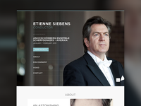 Website Etienne Siebens