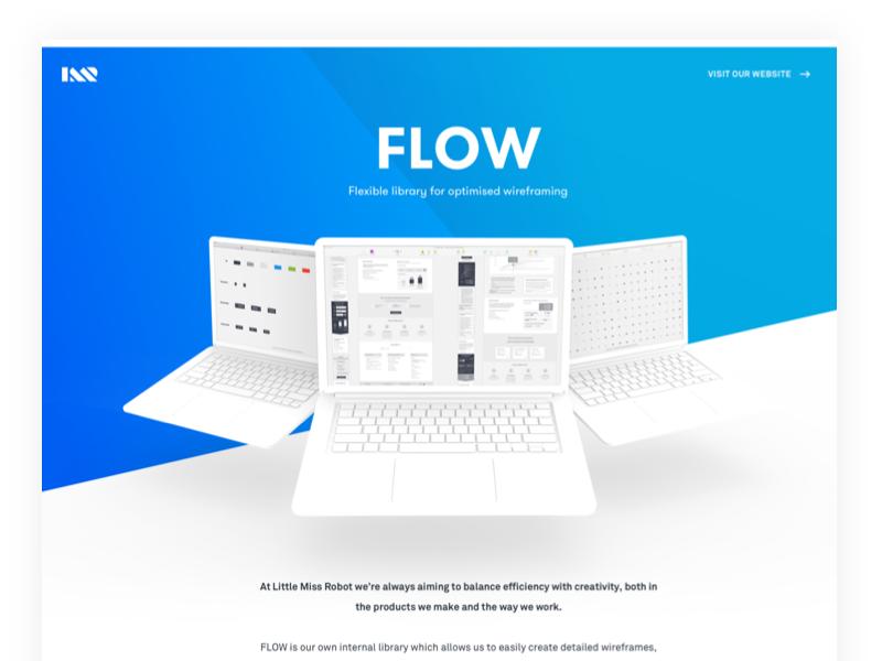 Flow dribbble