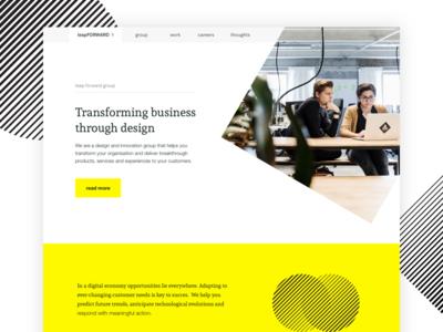 Leap Forward - Website