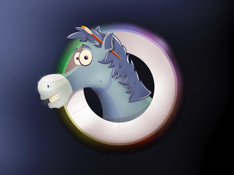 Leonardo Da Vrinski horse art museum illustration randers children