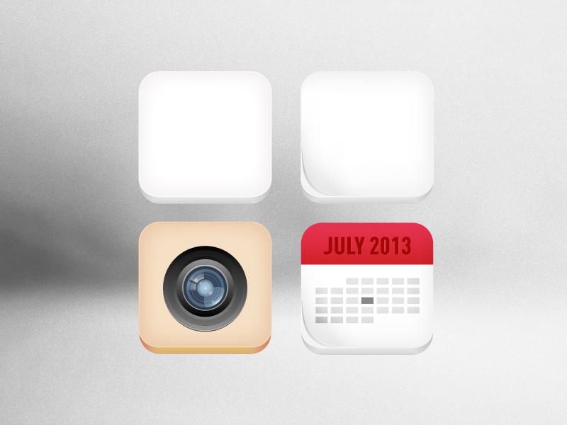 Free 3D Icons 3d 3 dimensional free icon calendar camera flip fold ai illustrator adobe