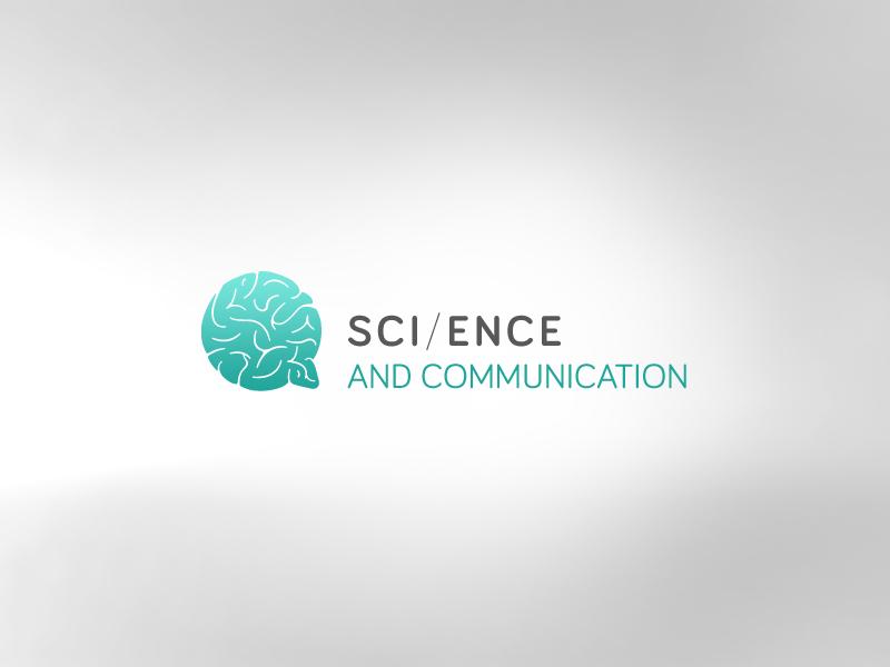 Science and Communication logo brain sci science communication speech bubble