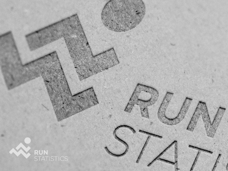 Run Statistics diagram run fitness health logo statistic statistics