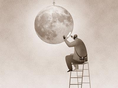 Maintenance mono graphic illustrator illustration