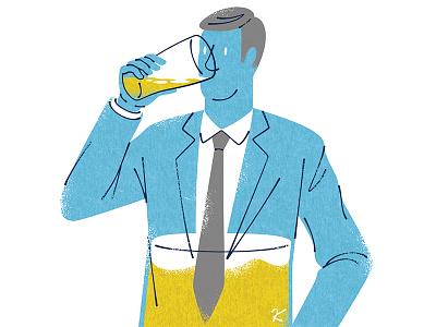 Beer drawing illustrator illustration