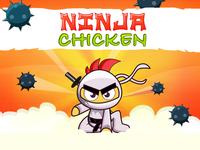 Ninja chicken Splash Page