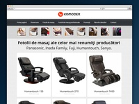 Komoder.ro - Massage Chair HomePage