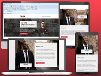 RAFA - Responsive email template