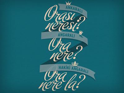 Oranerela? typography typo t-shirt tshirt tee shirt ankara