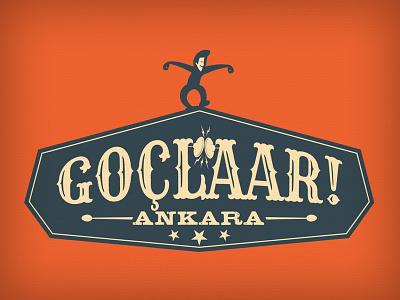 Goclaar! typo typography tee tshirt t-shirt shirt ankara