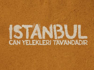 Can Yelekleri Tavandadir typo typography tee tshirt t-shirt shirt istanbul