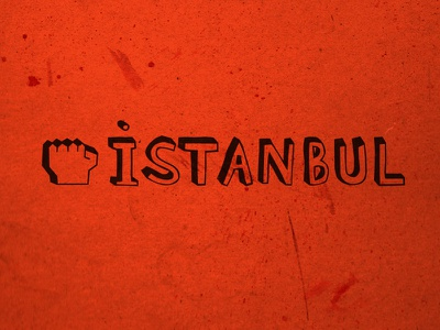 Diren Istanbul typo typography tee tshirt t-shirt shirt direnistanbul occupy istanbul