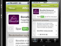 AfterHours iPhone app