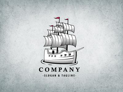 Classic Galleon Logo