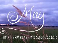 Letraspace May by dawnland