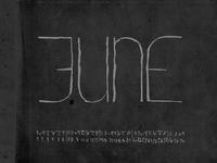 Letraspace June by Dawnland